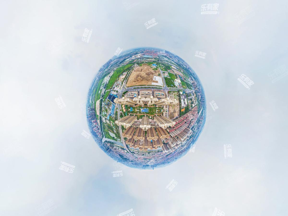 中海锦城花园航拍
