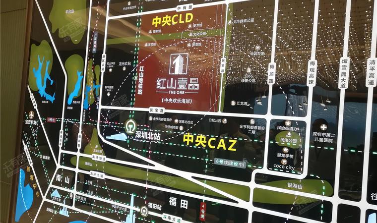 红山6979商业中心(一期)商务公寓沙盘图04