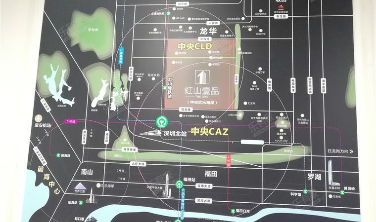 红山6979商业中心(一期)商务公寓沙盘图03