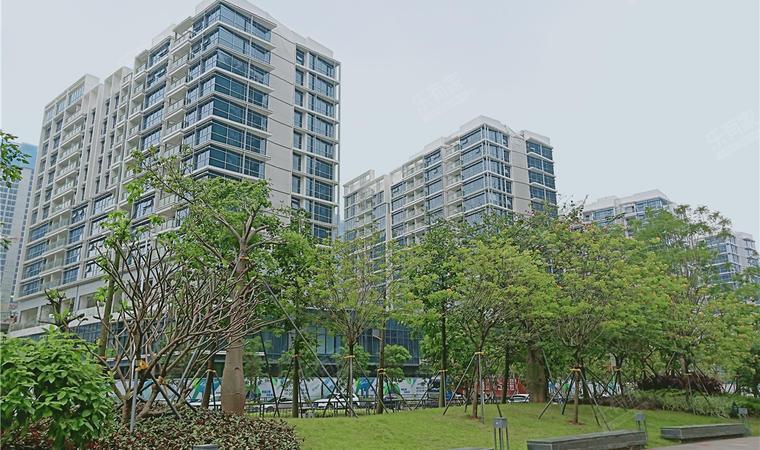 红山6979商业中心(一期)商务公寓实景图02