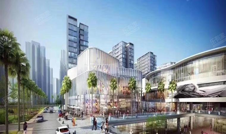 红山6979商业中心(一期)商务公寓效果图002