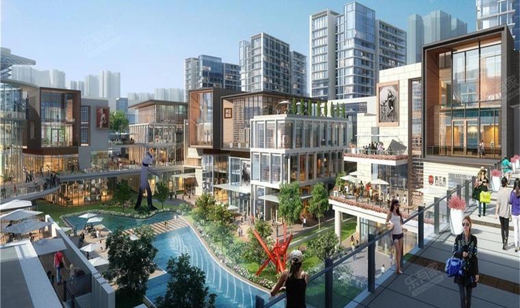 红山6979商业中心(一期)商务公寓效果图004