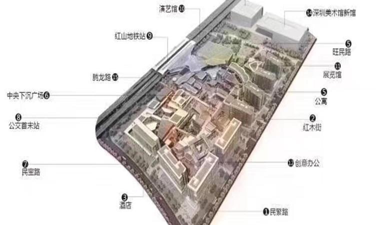红山6979商业中心(一期)商务公寓效果图001