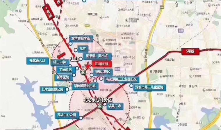 红山6979商业中心(一期)商务公寓效果图003