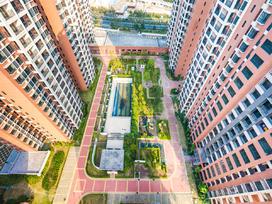 昊景湾花园实景图