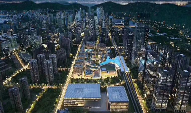 红山6979商业中心(一期)商务公寓效果图0011