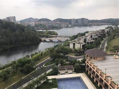 1.惠州市区CBD大江北区域白鹭湖毛坯房出售