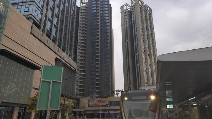 佳华领域广场(一期)航拍