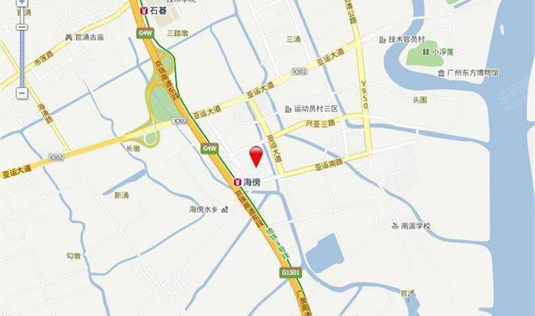 亚运城位置图2