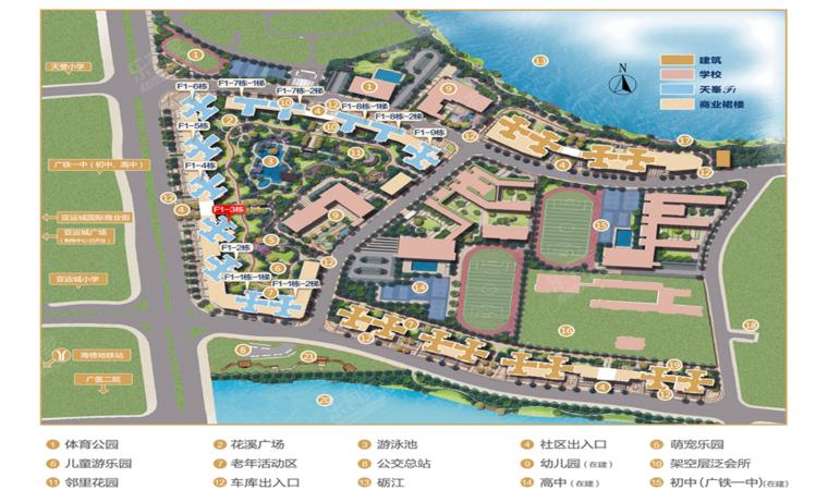 亚运城平面图1