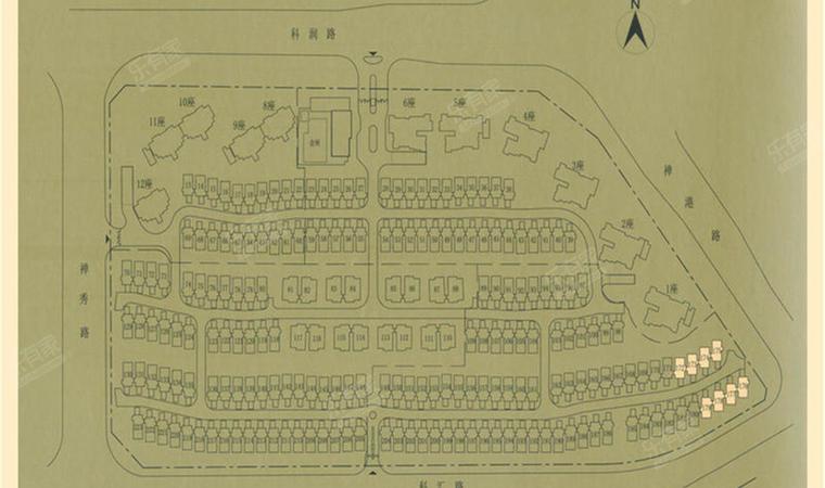 涟岸花园平面图1