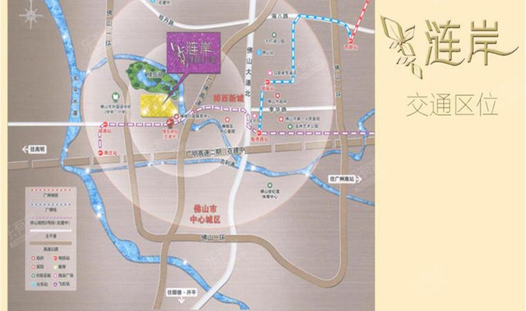 涟岸花园位置3