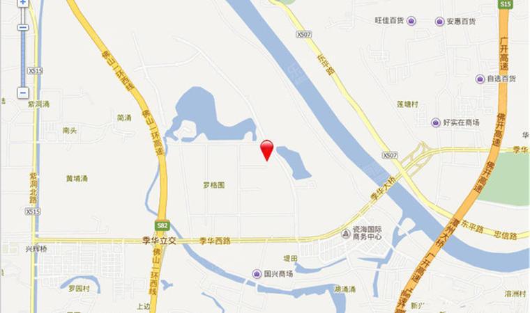 涟岸花园位置1