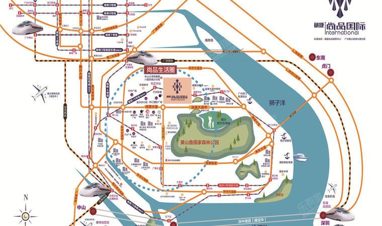 敏捷尚品商务中心位置图