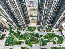 富康名城花园实景图