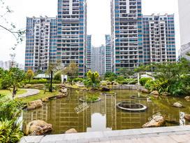 秋谷康城花园实景图