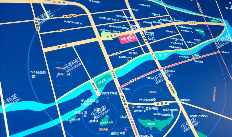 东江华府位置图2