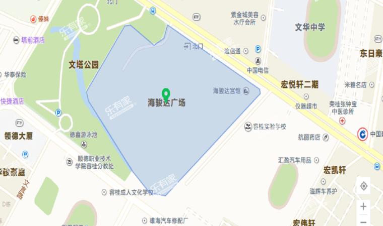 海骏达广场位置