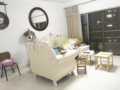 香格丽苑精装修三房,家具齐全,紧邻地铁,配套成熟-深圳香格丽苑租房