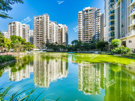 华夏新城实景图