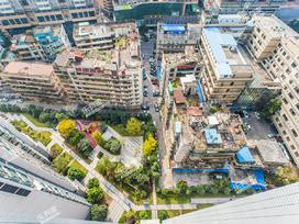 富力广场实景图
