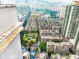 建业小区实景图