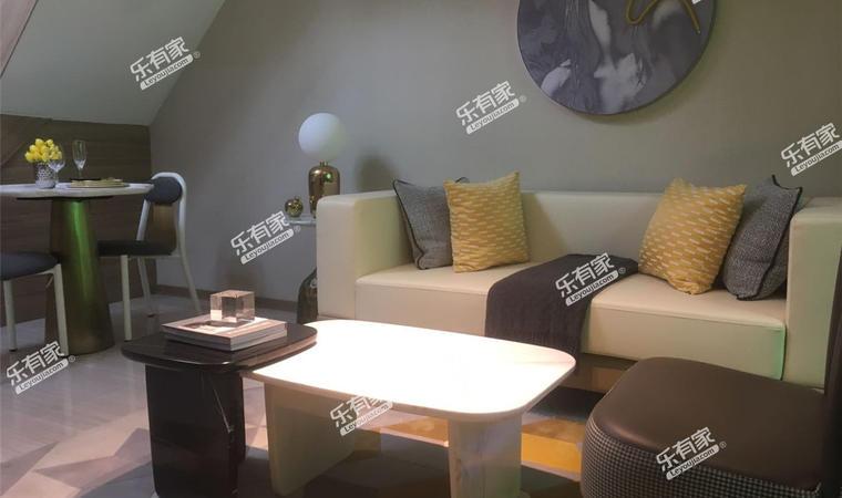 尚誉花园11.精装公寓样板房43m²