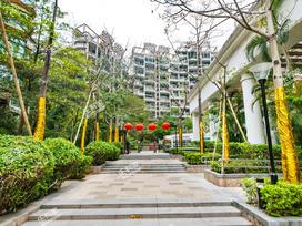 香域中央花园实景图