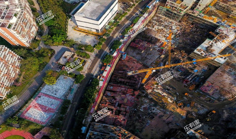 亚运城项目现场1