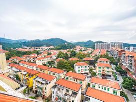 宝湖山庄实景图