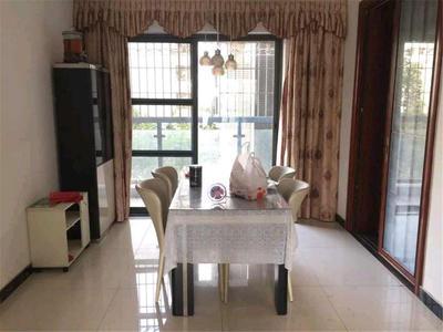 东华明珠园四房二厅精装带家私电器出租