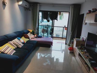 宏发嘉域精装三房,三面采光,有超大阳台,主卧带小书房,诚租